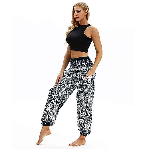 JMETRIE Unisex Casual Loose Hippy Yoga Baggy Boho Aladdin ...