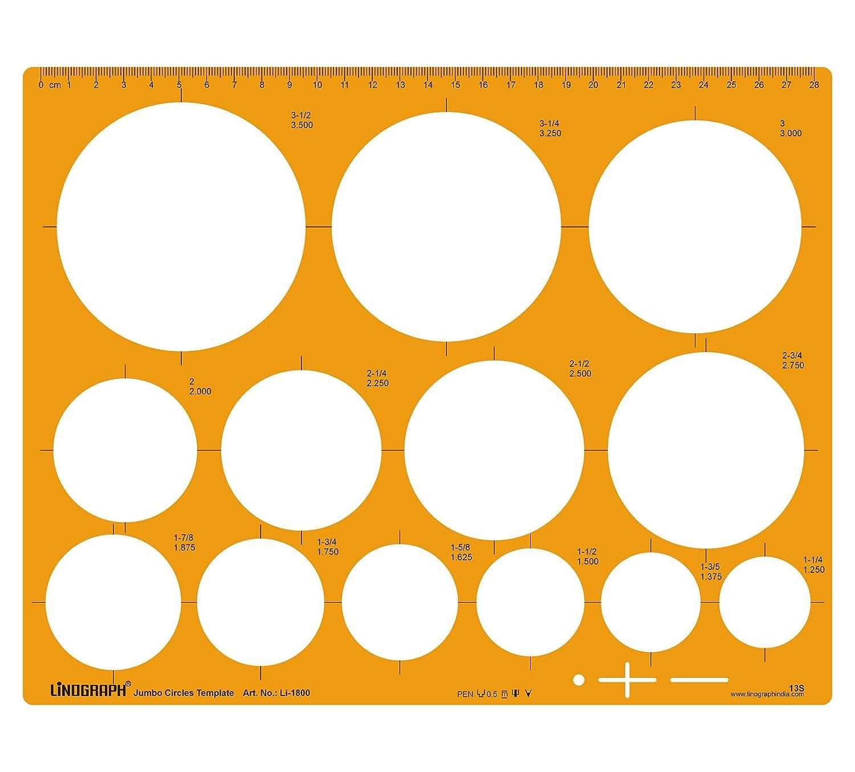 Jumbo Kreis-Schablone Entwurf und Design-Vorlage Stencil Symbole ...