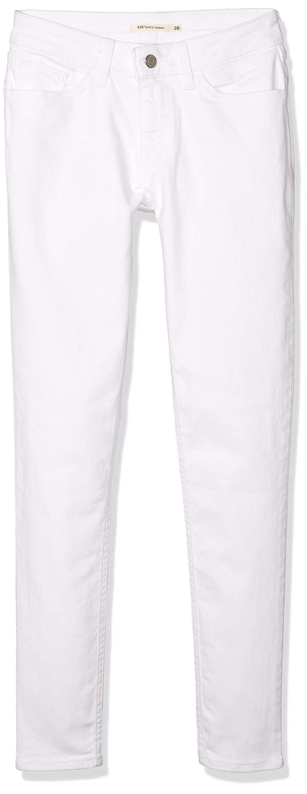 Levi's Women's 535 Super Skinny Jeans, Soft White, 27 (US 5) R