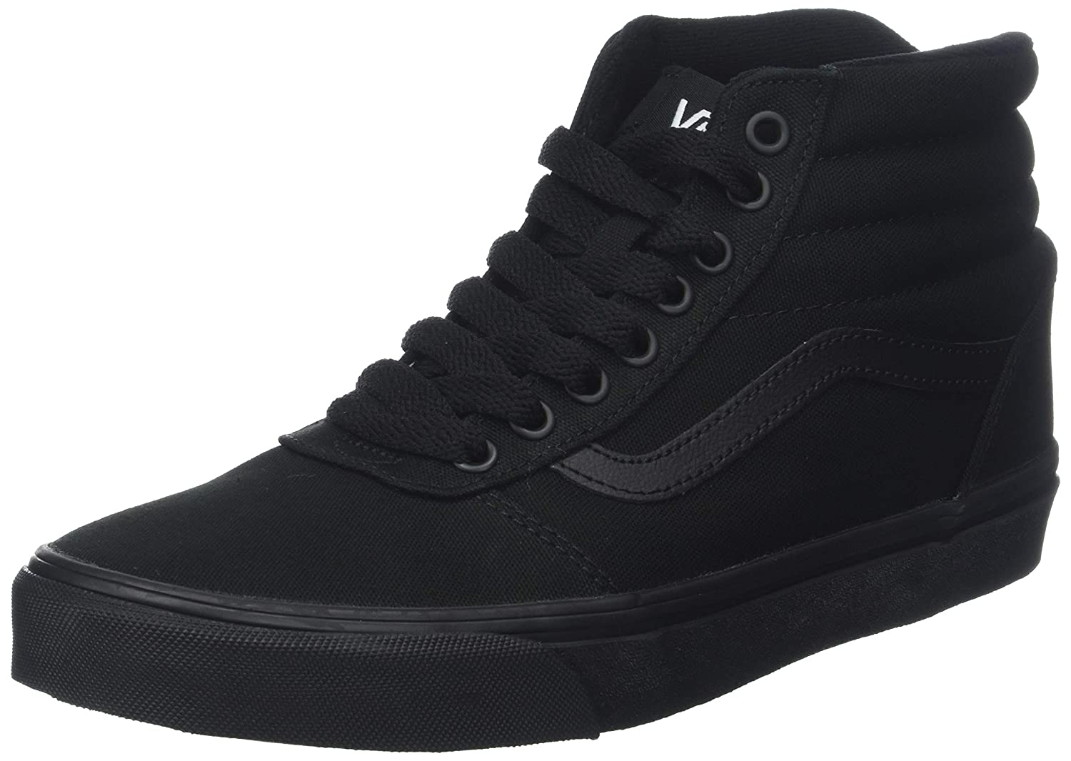welbekend goed uit x goedkope verkoop Vans Men's Ward Canvas Hi-Top Trainers: Amazon.co.uk: Shoes ...