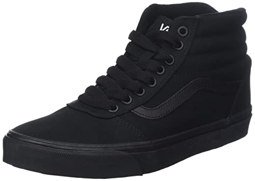 ebb5c381ad03b Vans Men's Ward High Top, Sneakers, Black, 6.5 M Us