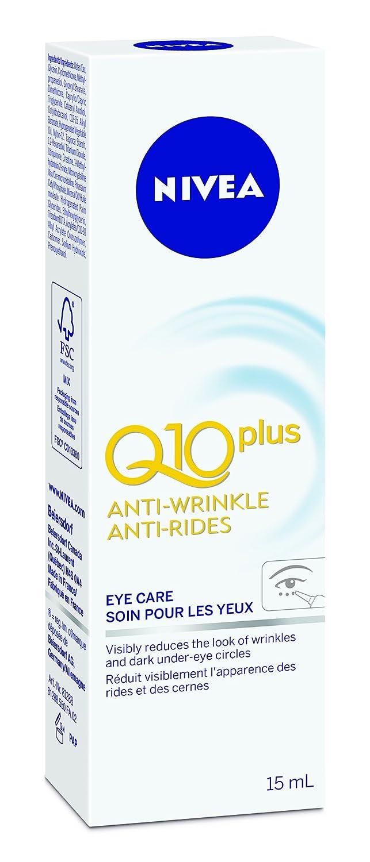 NIVEA Q10plus Anti-Wrinkle Eye Care, 15 mL tube 056594101708