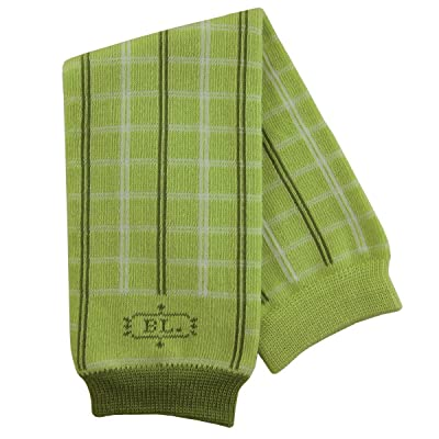 BabyLegs Basics Leg Warmers - Green Plaid