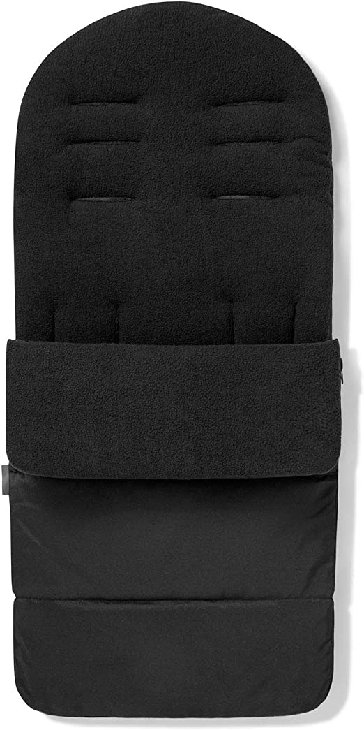 Premium Pushchair Footmuff Cosy Toes For My Babiie Mb51 Black Jack