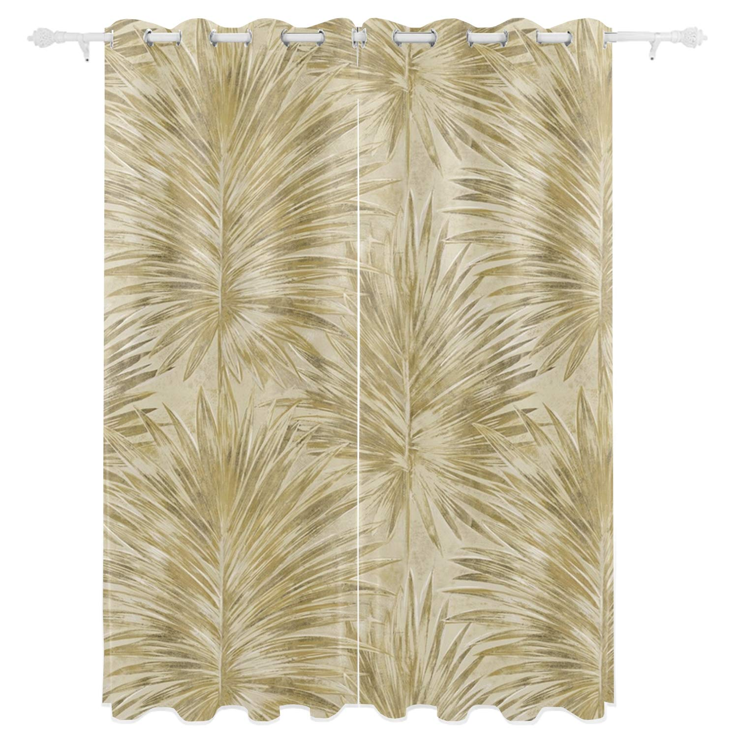 Sbfhdy Blackout Curtain Panels Window DraperiesPattern On Paper 55x84 Inch 2 Pieces Insulating Room Darkening Blackout Drapes for Bedroom