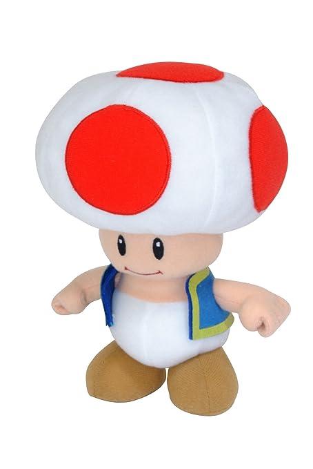 Super Mario 12cm Plush Toad