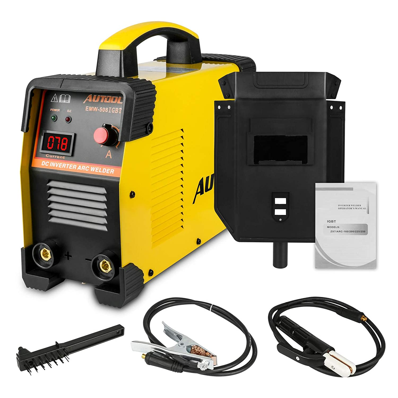 Soldadora Inverter Arco IGBT, AC 110V/220V 160Amp Equipo de Soldadura Máquina Portátil(3 Años de Garantia): Amazon.es: Bricolaje y herramientas