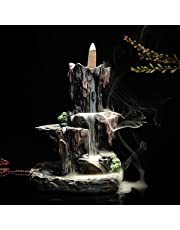 Jeteven Brûle Encens Cône Refoulement Porte Encens en Céramique Encensoir