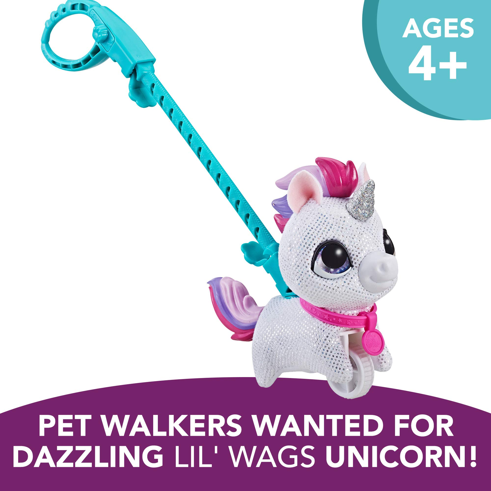 FurReal Walkalots Lil' Wags, Unicorn by FurReal (Image #3)