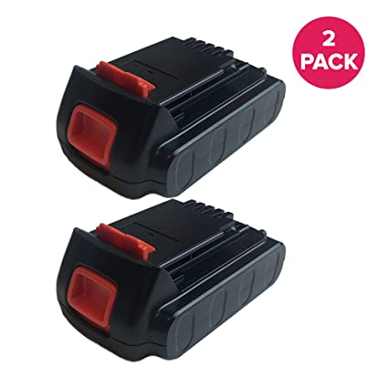 Think Crucial 2 Replacements for Black & Decker LBXR20 20-Volt MAX Extended Run Time