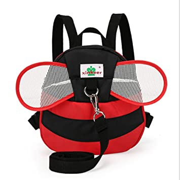 ba09988e8158 Hipiwe Baby Toddler Walking Safety Backpack with Leash Little Kid Boys  Girls Anti-lost Travel