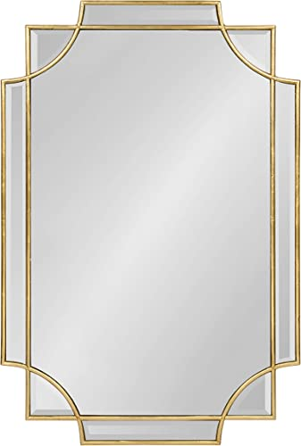 Kate and Laurel Minuette Decorative Rectangle Frame Wall Mirror