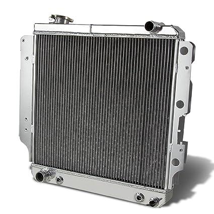 For Jeep Wrangler 3-Row Full Aluminum Racing Radiator Radiator Jeep Wiring Harness on