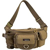 Piscifun Fishing Bag Portable Outdoor Fishing Tackle Bags Multiple Waist Bag Fanny Pack