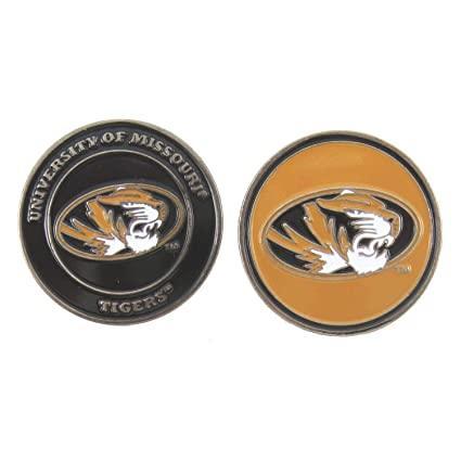 d31f808edae Image Unavailable. Image not available for. Color  Missouri Tigers Double-Sided  Golf Ball Marker