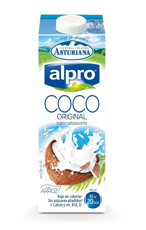 Bebida De Coco Alpro Brik 1L (Asturiana): Amazon.es: Alimentación y bebidas