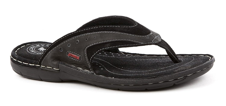 Joma S Mareas 701 Sandalias S. Marea 701 Negro Shoe Spring Summer Chanclas Piel, Negro 41 negro