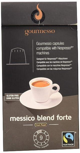 Gourmesso Messico Blend Forte (10 Capsulas)