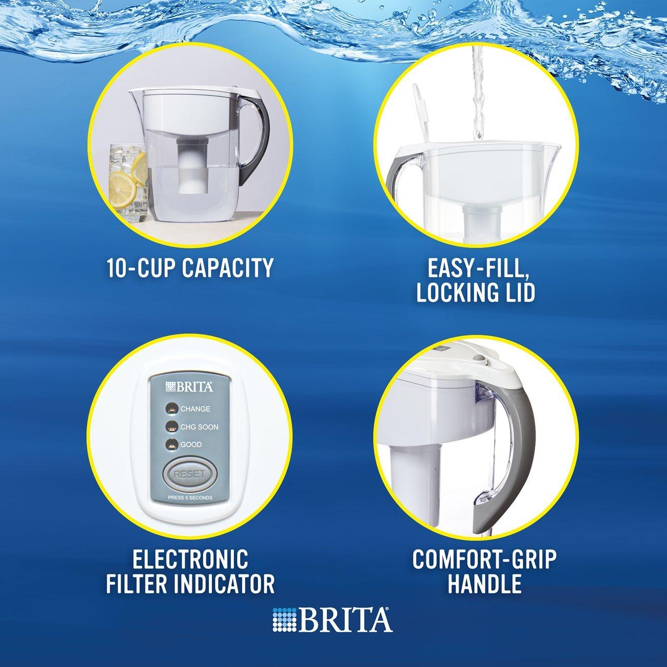 Brita Grand Water Filter Pitcher by Brita (Image #6)