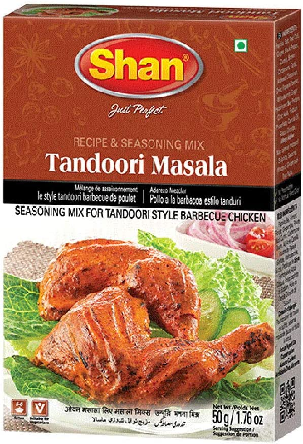 East End Shan Tandoori Chicken Mix 50 G Pack Of 6 Amazon Co Uk Grocery