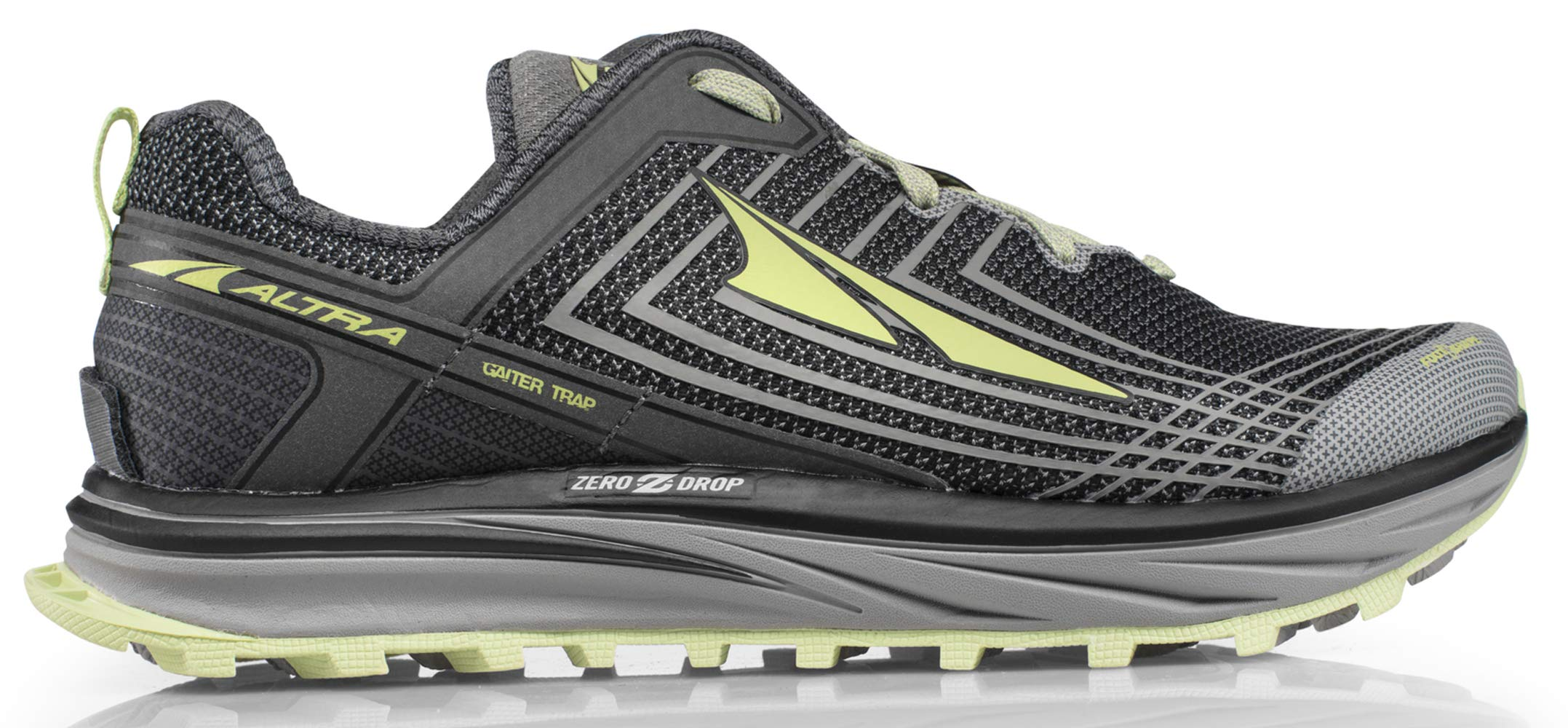 Altra AFW1957F Women's TIMP 1.5 Trail Running Shoe, Gray/Lime - 6 B(M) US