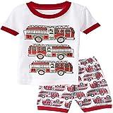 Kateirmaso Baby Kids Pajamas Set Summer Children Short Sleeve Cotton Sleepwear Boys Cartoon Pyjamas Girls Cute