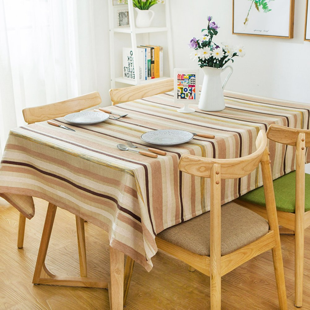 C 4343inch(110110cm) Lattice table covers rural tablecloth dining room antiOil table linen for home hotel cafe restaurantB 5179inch(130200cm)