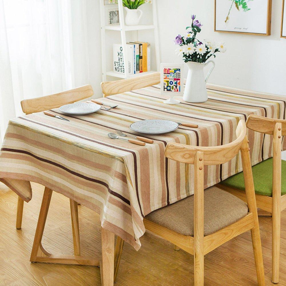 DFSZBDN DFSZBDN DFSZBDN Vintage square tischtuch Schwergewichts-stoff tischtuch Rechteck & länglich Tischdecke für esszimmer-A 130x180cm(51x71inch) 7acbe6