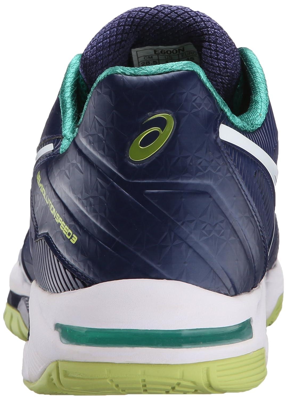 080c01f89 Zapatillas de tenis ASICS Speed-Gel Speed 3 para hombre Azul índigo    blanco   lima