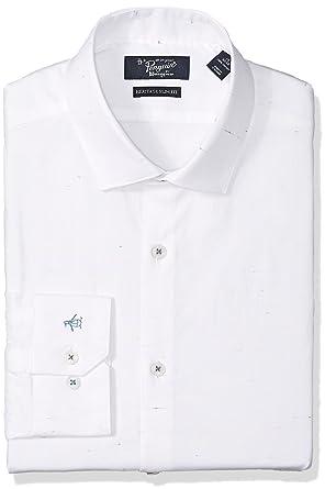 bbf1485a6955 Amazon.com  Original Penguin Men s Essential Slim Fit Spread Collar ...
