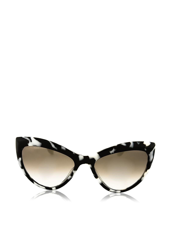 5b054881eb28 30%OFF Miu Miu Sunglasses Smu 08O Pc7-3m1 54x17 Black White Tortoise ...