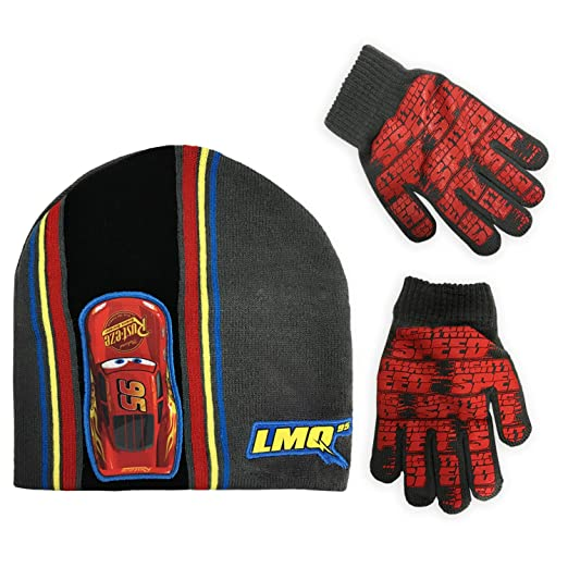 6a22cdbd1c7 Image Unavailable. Image not available for. Color  Disney Cars Lightning  McQueen Boys Winter Hat ...