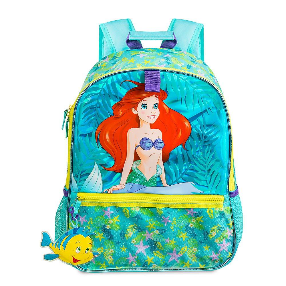 """Disney Little Mermaid Ariel School Backpack 10/"""" Toddler Girls Bag"""