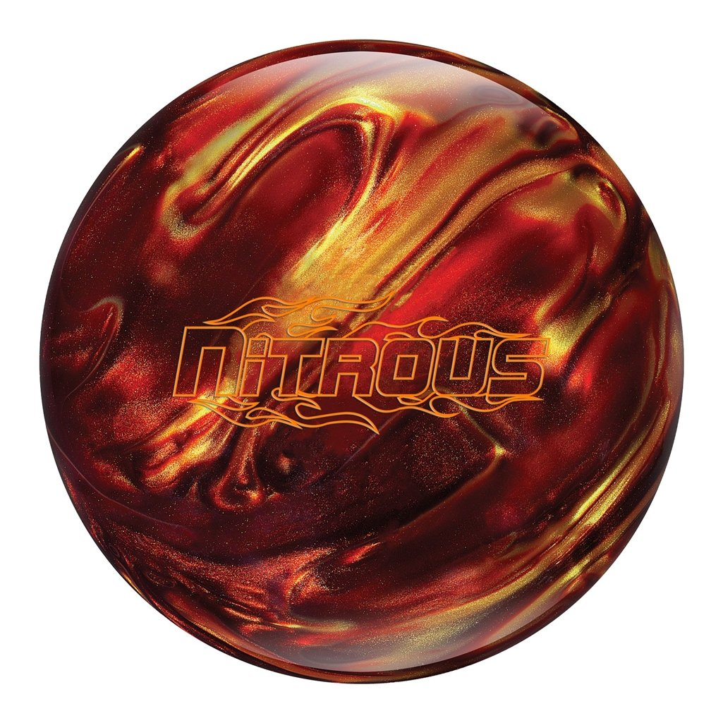 Columbia 300 Nitrous Bowling Ball Red/Gold, 12lbs