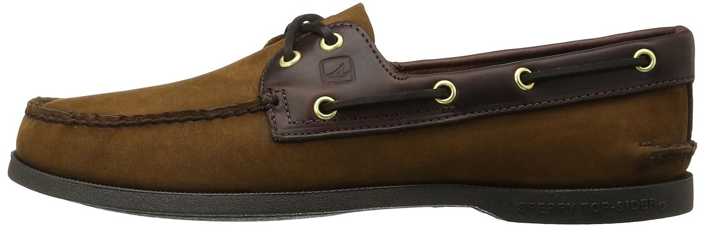 Sperry Mens A//o 2eye Suede Brazil Boat Shoe