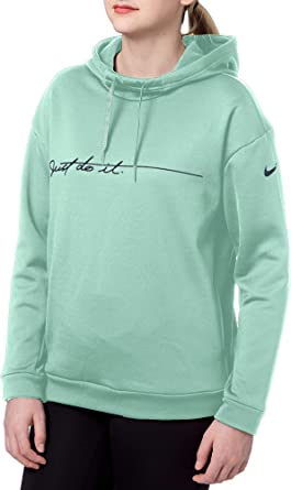 b8649370a9f0 Nike Women s Therma Graphic Fleece Training Hoodie at Amazon Women s ...
