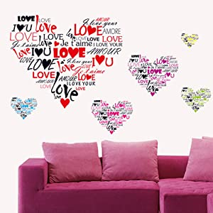 Love Wall Stickers Love Wall Decal Mural Home Decor
