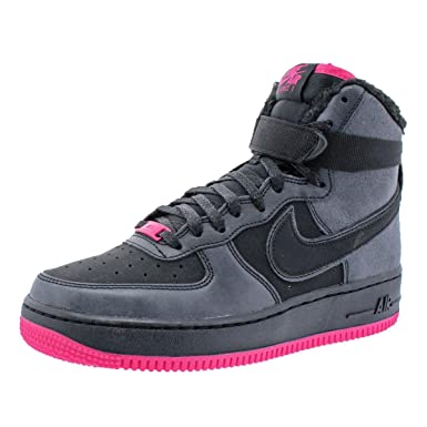 buy popular 321cf 774f8 ... australia nike girls air force 1 high lv8 fashion sneakers black 6  medium bm 11d2f e2d17