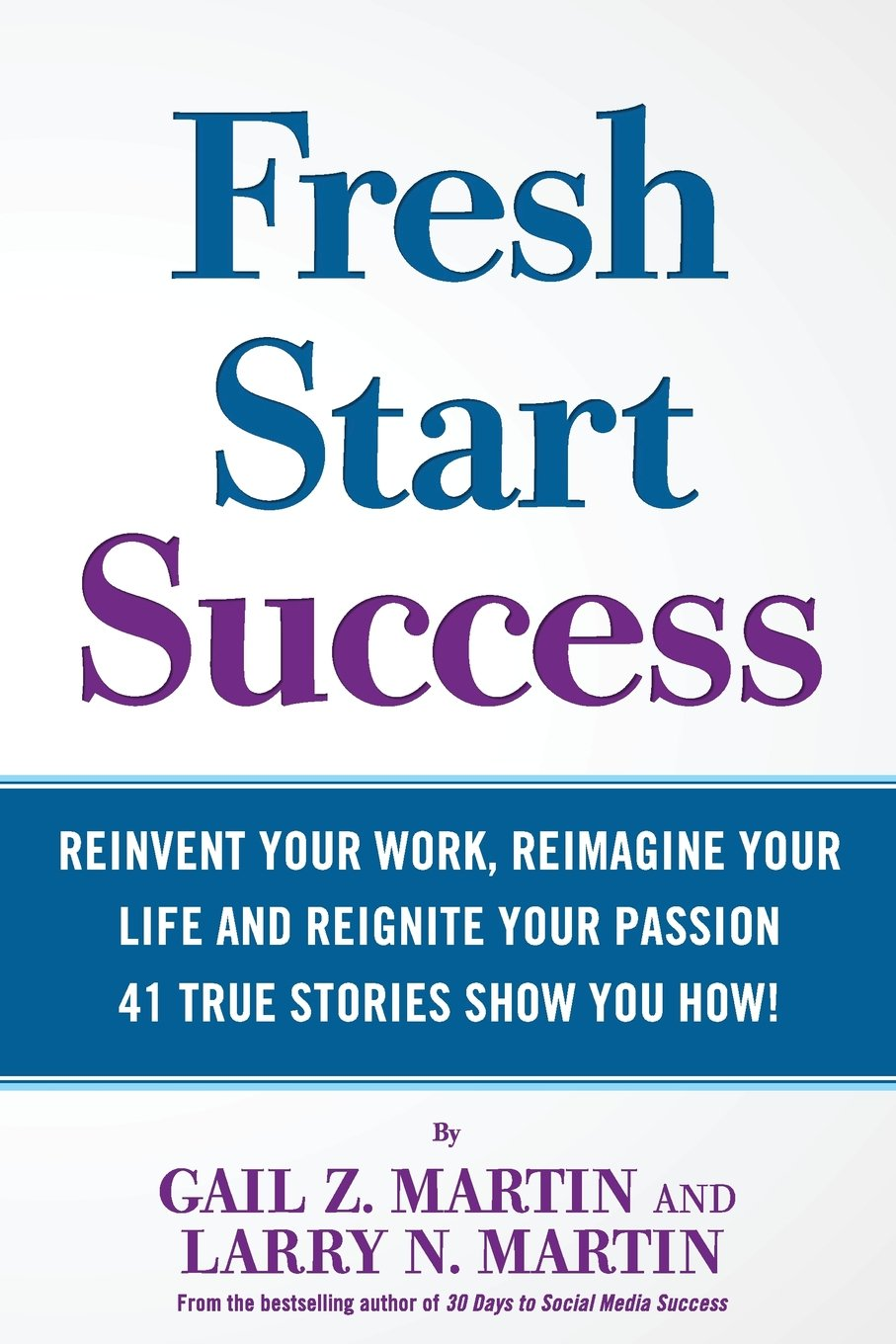Fresh Start Success Reinvent Reimagine