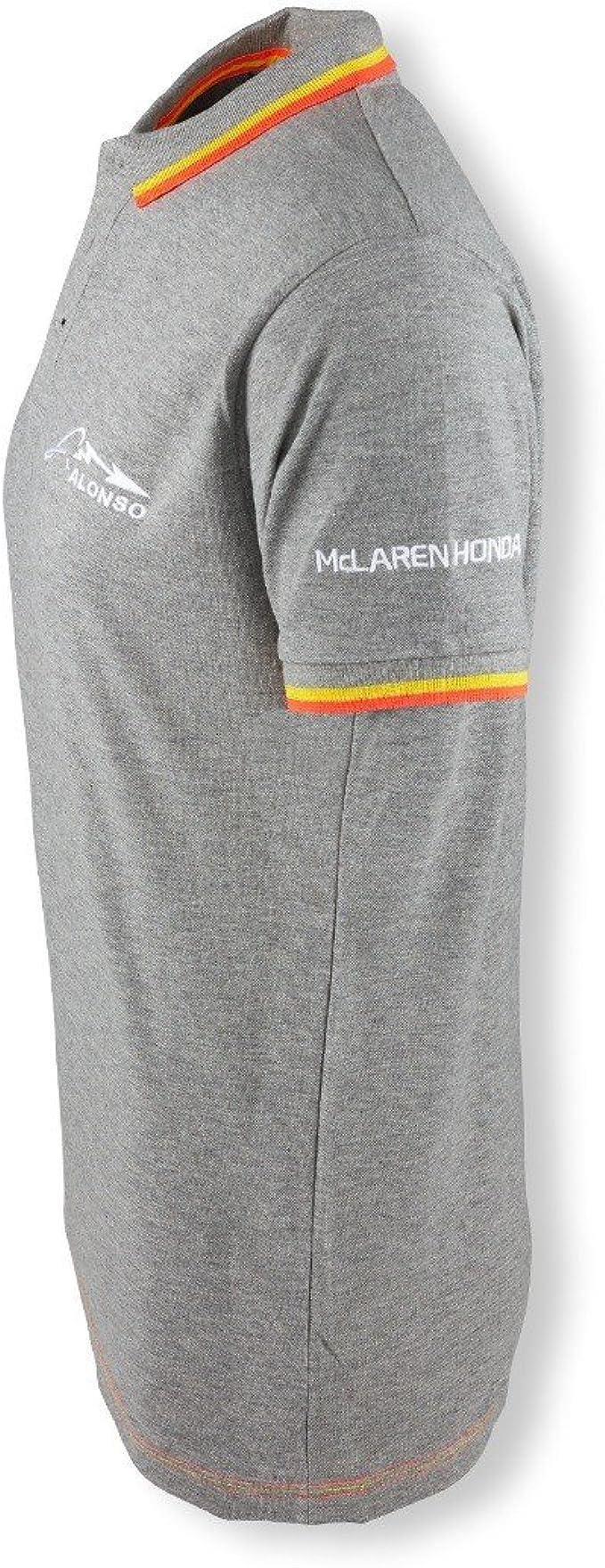 McLaren Official 2018 Fernando Alonso T Shirt Tee Top Cotton Kids Fanatics