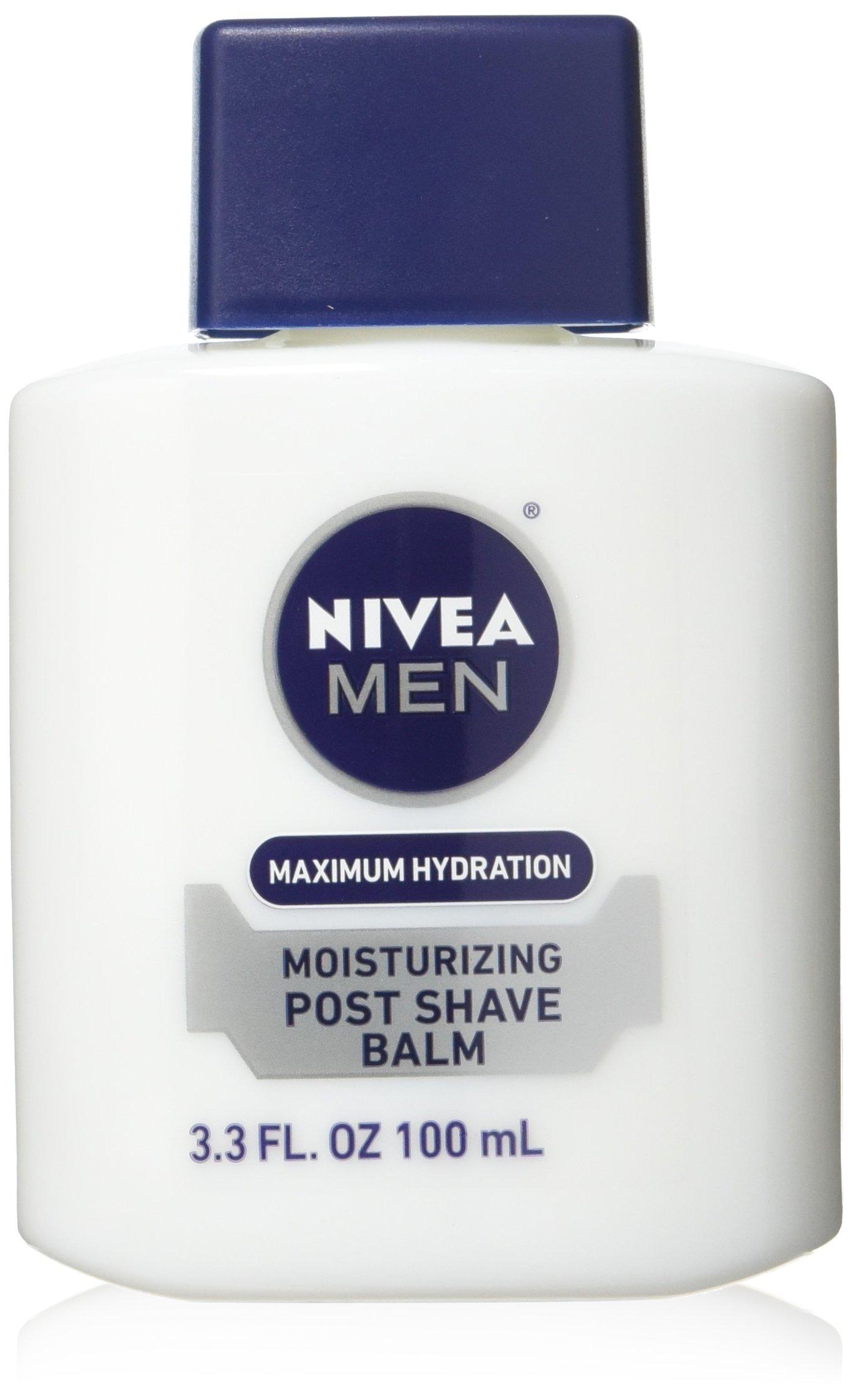 NIVEA FOR MEN Moisturizing Post Shave Balm 3.30 oz (Pack of 3)