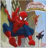 Speelgoed 85154P - Spiderman Serviette, 20 Stück
