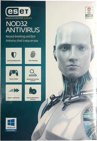 ESET NOD32 Antivirus - 1 Year, 1 User: Amazon.es: Software