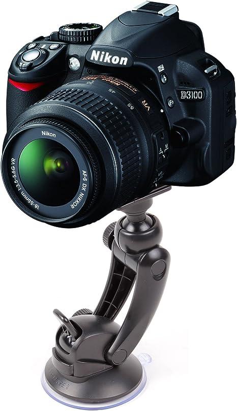DURAGADGET-Soporte con ventosa para cámara de fotos réflex digital ...