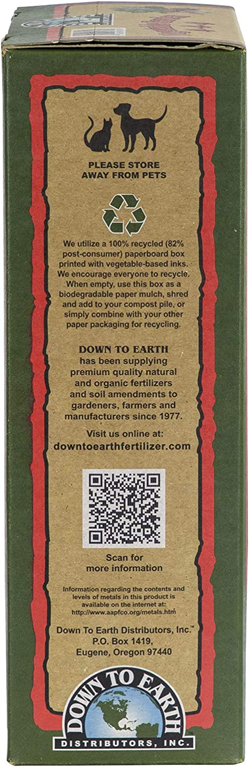 Amazon Com Down To Earth Organic Vegetable Garden Fertilizer 4 4 4 5lb Garden Outdoor