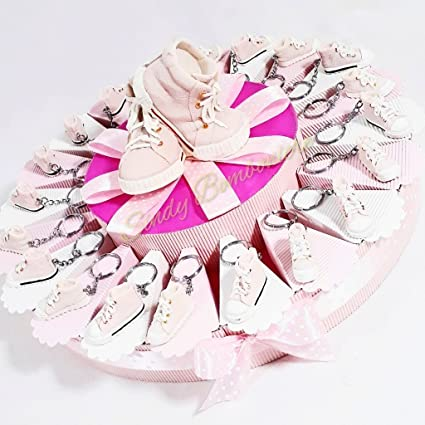 Torta Portachiavi Rosa Bomboniere Scarpe Sindy Bomboniera Converse YbI7gyvf6