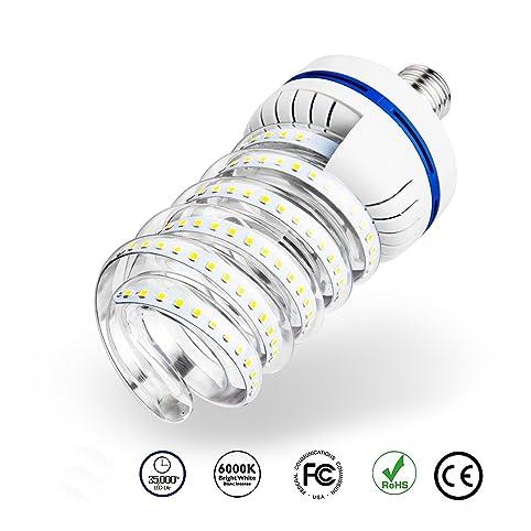 30 watt spiral led corn light bulb3000 lumen 220 watt equivalent