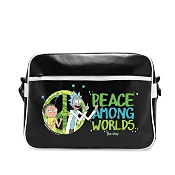 Besace ABYstyle Peace and Morty Vinyle Rick Sac wUqraWUIpx