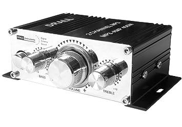 Amplificador de Potencia Mini Amplificador para Reproductor de mp3-player, portátil ,portátil,