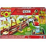 Angry Birds Go! - Telepods - A6030 - Piste de Course Pig Rock - Décor + 2 Karts
